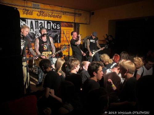 The Analogs, Suwalskie Ucho Muzyczne, Suwałki, 05.10.2013 #koncert #muzyka #PunkRock #rock #SuwalskieUchoMuzyczne #Suwałki