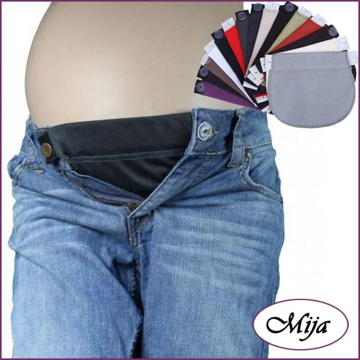 ... Pregnancy waistband belly belt ADJUSTABLE elastic waist extender pants