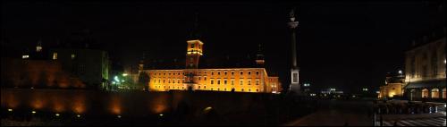 Zamek Królewski #panorama #noc #NocneZdjęcia #warszawa #StareMiasto #ZamekKrólewski