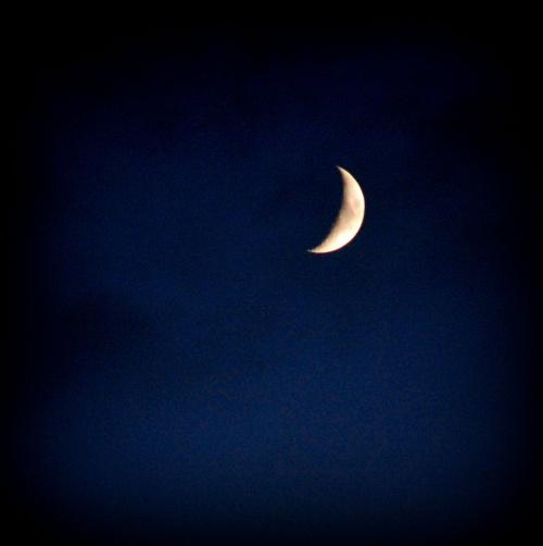 Księżyc w nowiu, dzień 5.