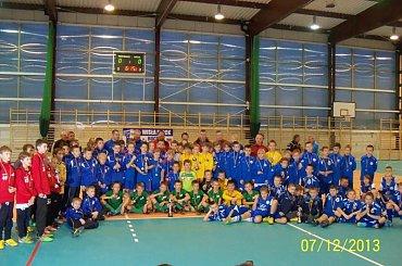 Halowy Turniej w Płocku rocznika 2002