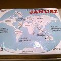 Torcik dla Janusz #tort #torty #mapa #MapaŚwiata #glob #KulaZiemska #kontynenty #TortyOkazjonalne