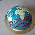 Torcik dl Haliny #KulaZiemska #glob #mapa #TortyOkazjonalne #tort #globus
