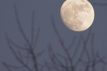 Księżyc, słońce, niebo