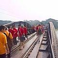 W miejscowości Tha Ma Kham - most na rzece Kwai #azja #kwai #most