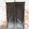 Młyn w Michalowie, 22 lut 2014, drzwi #Michalów #młyn