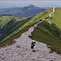 Tatry Zachodnie- z Wołowca w stronę Rakonia #góry #Lipiec2013 #Rakoń #Tatry #TatryZachodnie #Wołowiec