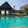 Basen w hotelu Lotos miejscowość Chaing Mai #azja #tajlandia #TigerKingdom #tygrys