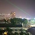 Nocny widok z okna hotelu Discovery Beach #azja #pattaya #tajlandia