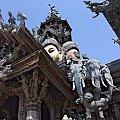 Świątynia prawdy w miejscowości Pattaya #pattaya #ŚwiątyniaPrawdy