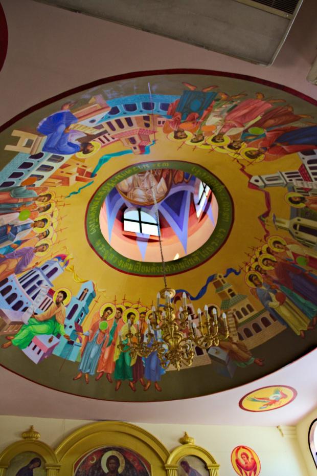 Cerkiew Prawosławna pw. Wszystkich Świętych w Pattaya #azja #pattaya #tajlandia #cerkiew