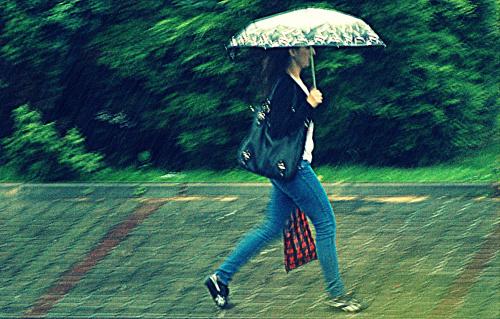 Między kroplami deszczu