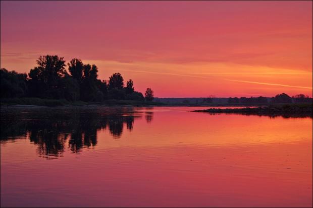 ranek nad Odrą #Odra #rzeka #lipiec
