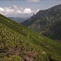 z podejścia na Ornak #góry #Lipiec2014 #Ornak #Tatry #TatryZachodnie