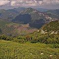 widok z Ornaku #góry #Lipiec2014 #Tatry #TatryZachodnie