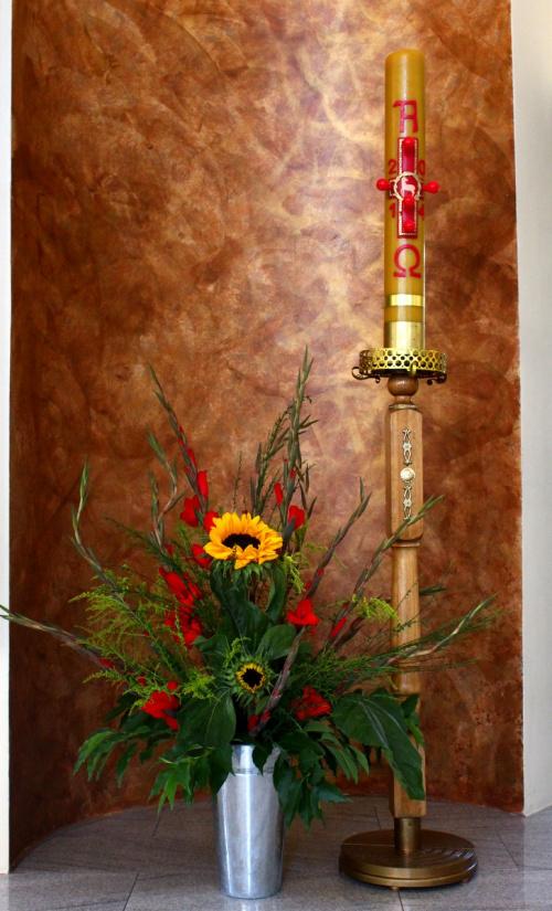 koniec urlopu, koniec wakacji, kończy się lato ... czas wracać do pracy :) **** ulub. lidiaizabela **** #bukiety #Kędzierzyn #kościół #kwiaty