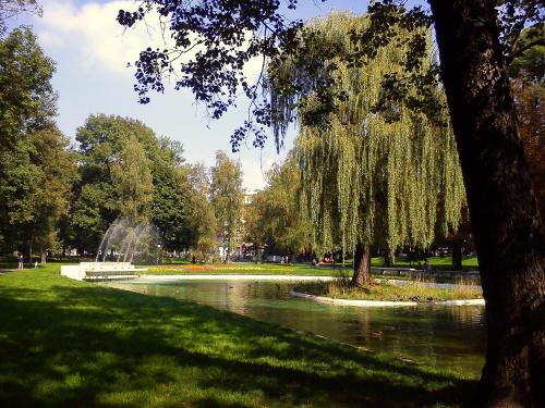 Wrzesień w Parku Krakowskim w Krakowie
