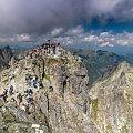 Szczyty Rys... #arietiss #góry #krajobraz #panorama #Tatry