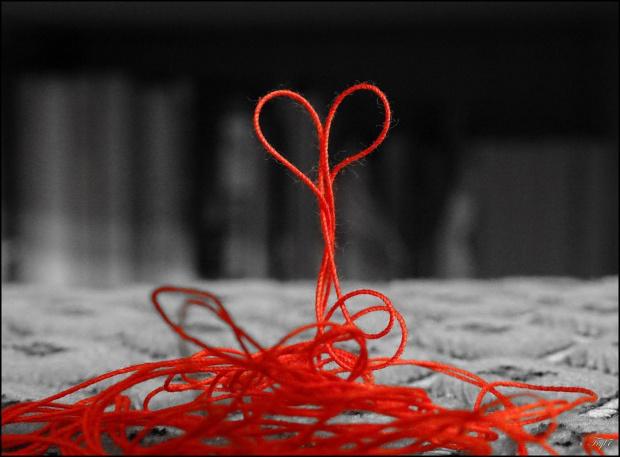 Życie jest jak cienka nić ... W swoim labiryncie potrafi odnaleźć odrobinę szczęścia ...