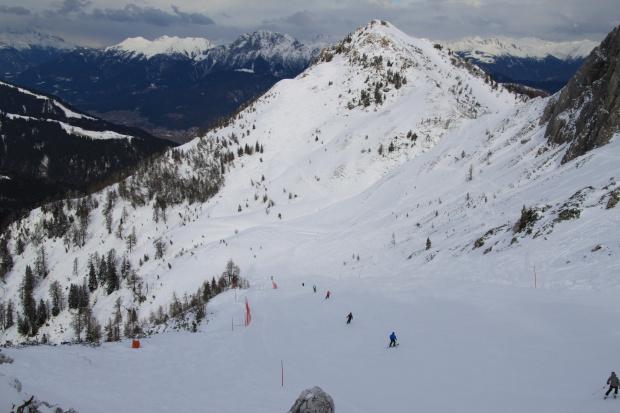 Kultowa jedynka z Gartnerkofel #Alpy #Austria #Narty #Nassfeld
