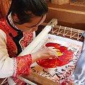 Szkoła - Wyszywanie jedwabiem #Chiny