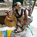 Figurka na przodzie rikszy w Macau #Chiny