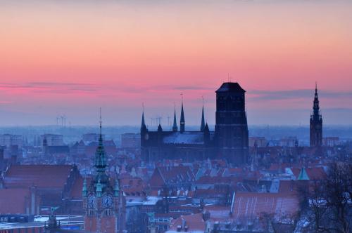 Miasto budzi się...Ze specjalną dedykacją dla Krzysztofa (Kaszub2) na dobry początek dnia :)))