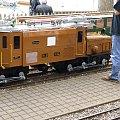 lokomotywa podziwiana nie tylko przez dzieci-miniaturka #architektura
