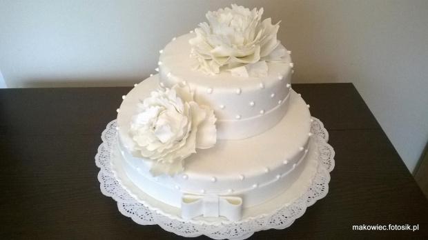 torcik weselny z peoniami #TortWeselny #TortyWeselne #peonie #piwonie #kwiaty #toty #TotyOkazjonalne
