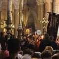 Liturgia Wielkanocna w Bazylice Grobu Pańskiego #izrael #jerozolima #wielkanoc #ZiemiaŚwięta