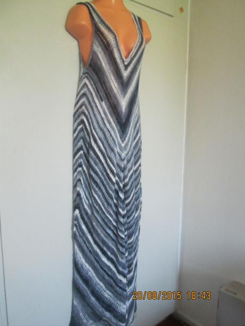 długa, bambusowa sukienka